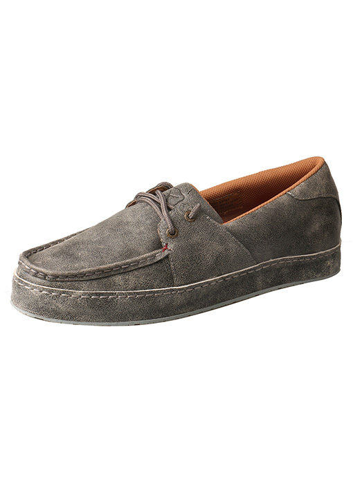 Men's Western Sneaker – Marbled Grey