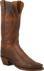 Womens Lucchese 1883 Burnished Tan Ranch Hand Boots