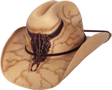 No Guts No Glory Straw hat