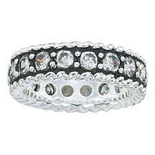 Crystal Shine Band Ring (RG10CZ)