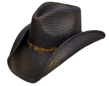 Stetson Roxbury Straw Hat Black