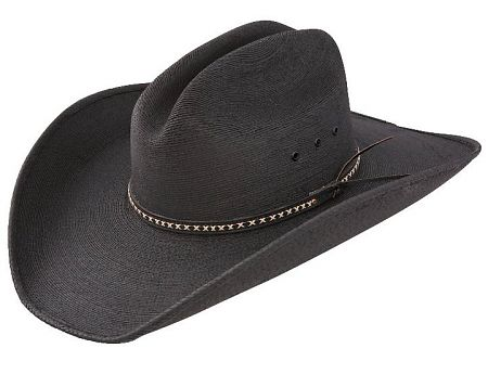 "Jason Aldean Black Straw Hat ""Asphalt Cowboy"""