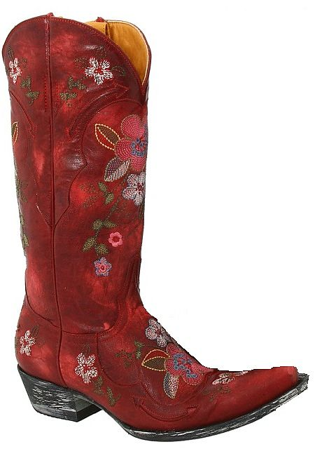 Womens Old Gringo Boots Bonnie in Red