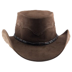 Bronco Expresso Leather Hat