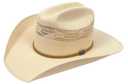 Justin 20X Buccaneer straw western hat