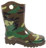 Smoky Boots Childrens Camo Rain Boot