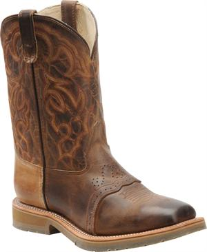 Mens Double H St Square Toe Roper Oldtown Folklore