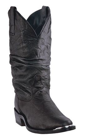 Dingo  Western Slouch Black Boots