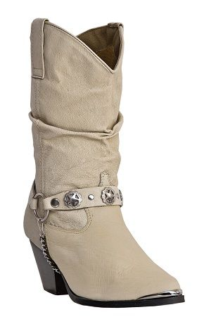 Womens Dingo Boot Strap Slouch Boot Tan