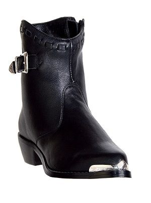 Womens Dingo Side Zip Boots Black