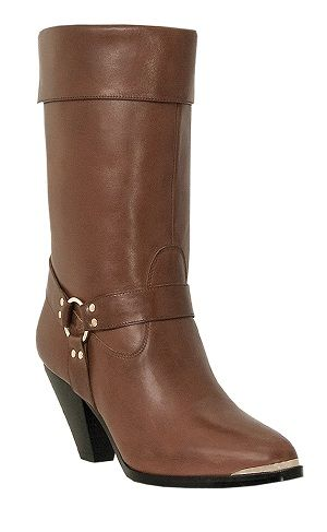 Womens Dingo Fashion Harness Boot Brown