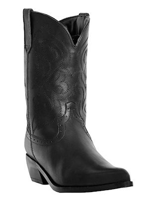 Womens Dingo Western Boots Burnished Black