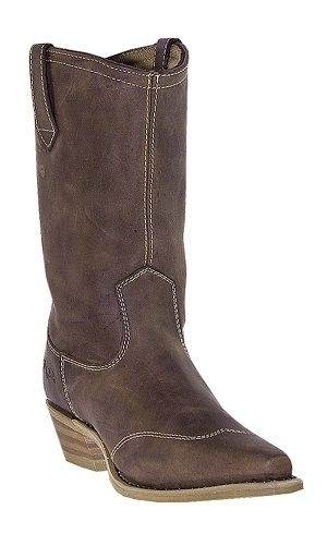 Womens Dingo Western Boots Gaucho Brown