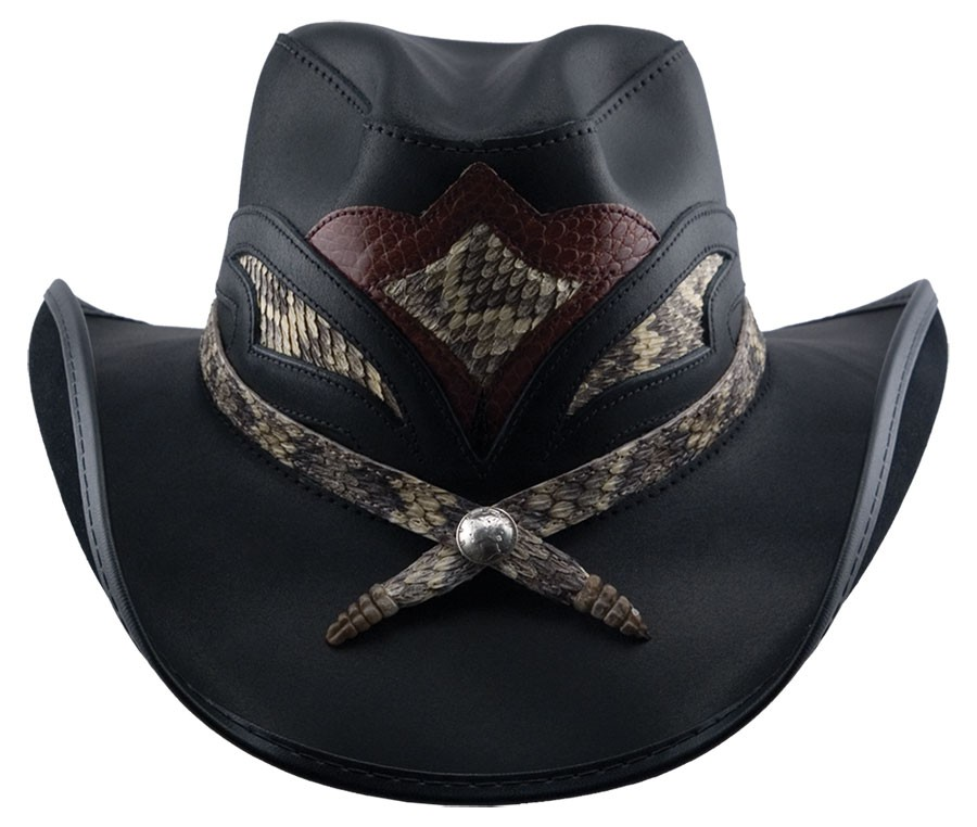 Storm Leather Hat