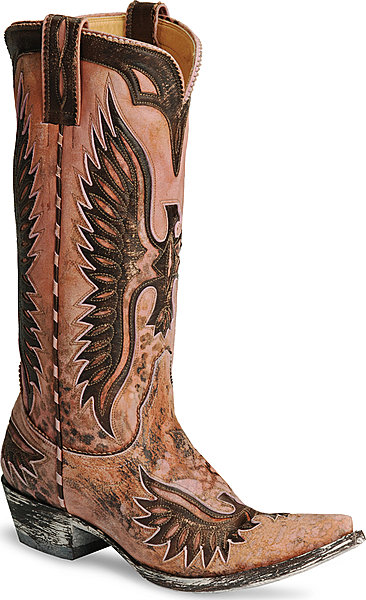 Womens Old Gringo Eagle Boot