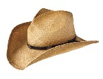 Harley Davidson Crushable Straw Hat