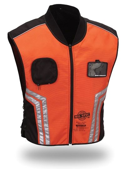 First Racing Military Spec Reflective Motorcycle Vest