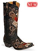 Womens Old Gringo Boots Grace Black