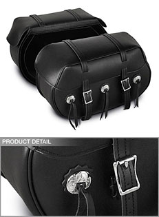 PVC Bolt-On Saddlebag