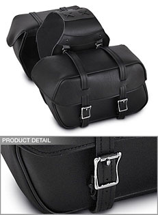 PVC Saddlebag w/Quick Release