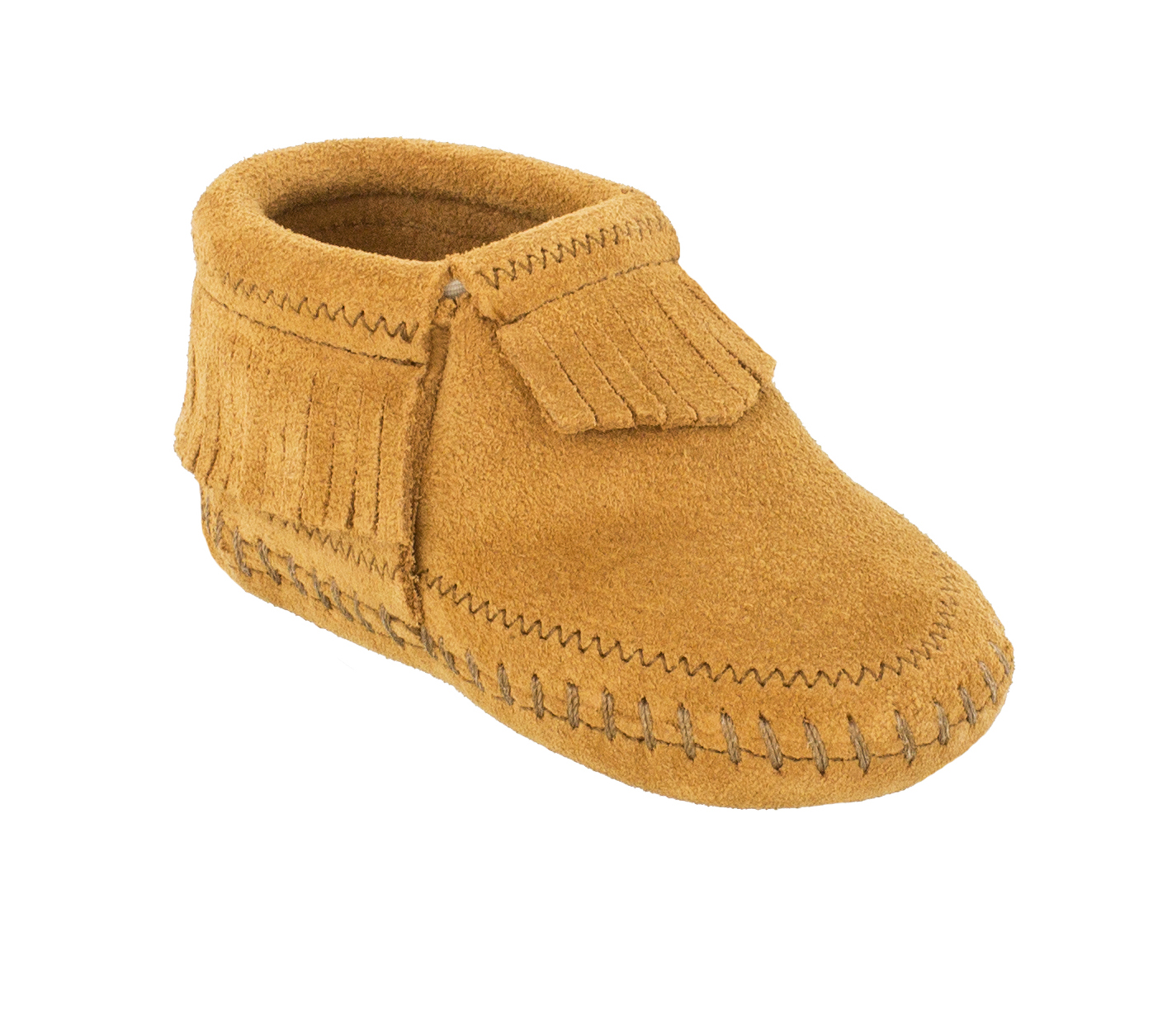 Infant Riley Taupe Suede Bootie