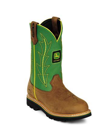 Green John Deere Boots