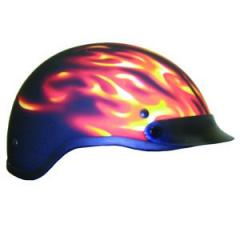 Matt Flame Helmet