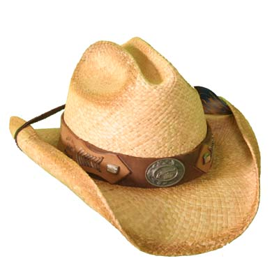 Wild Bill Straw Hat
