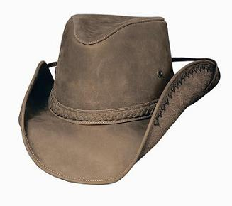 Melbourne Leather Hat