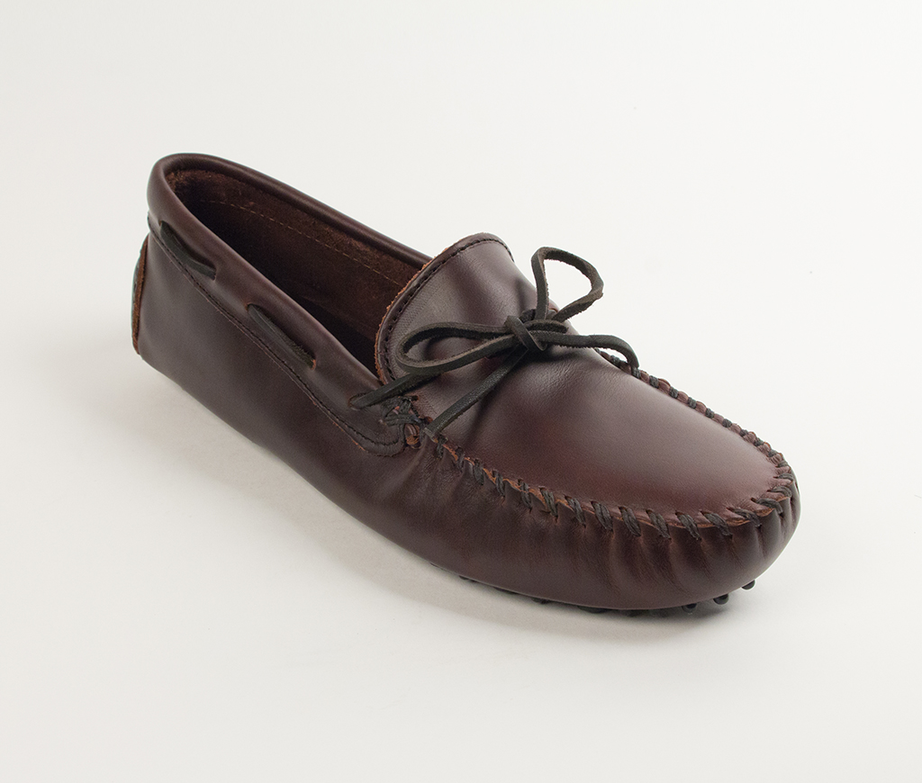 Men's Dark Brown Lariat Original Driving Moccasin