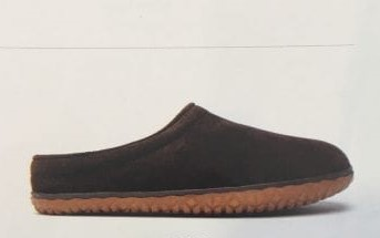 Men's Suede Taylor Chocolate Slipper Avail 6/21/2019