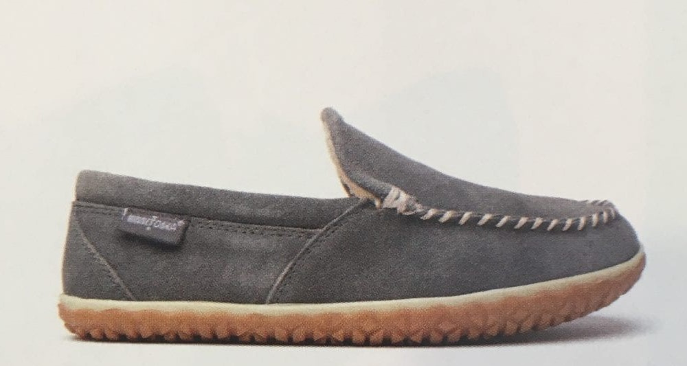Men's Suede Tilden Grey Slipper Avail 6/21/2019
