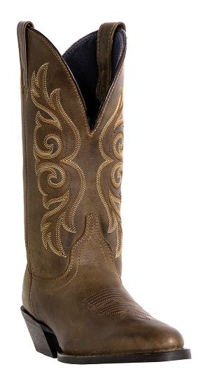 Womens Deertan Laredo Boot Golden Condor Brown