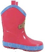 Smoky Boots Childrens Pink Rain Boots