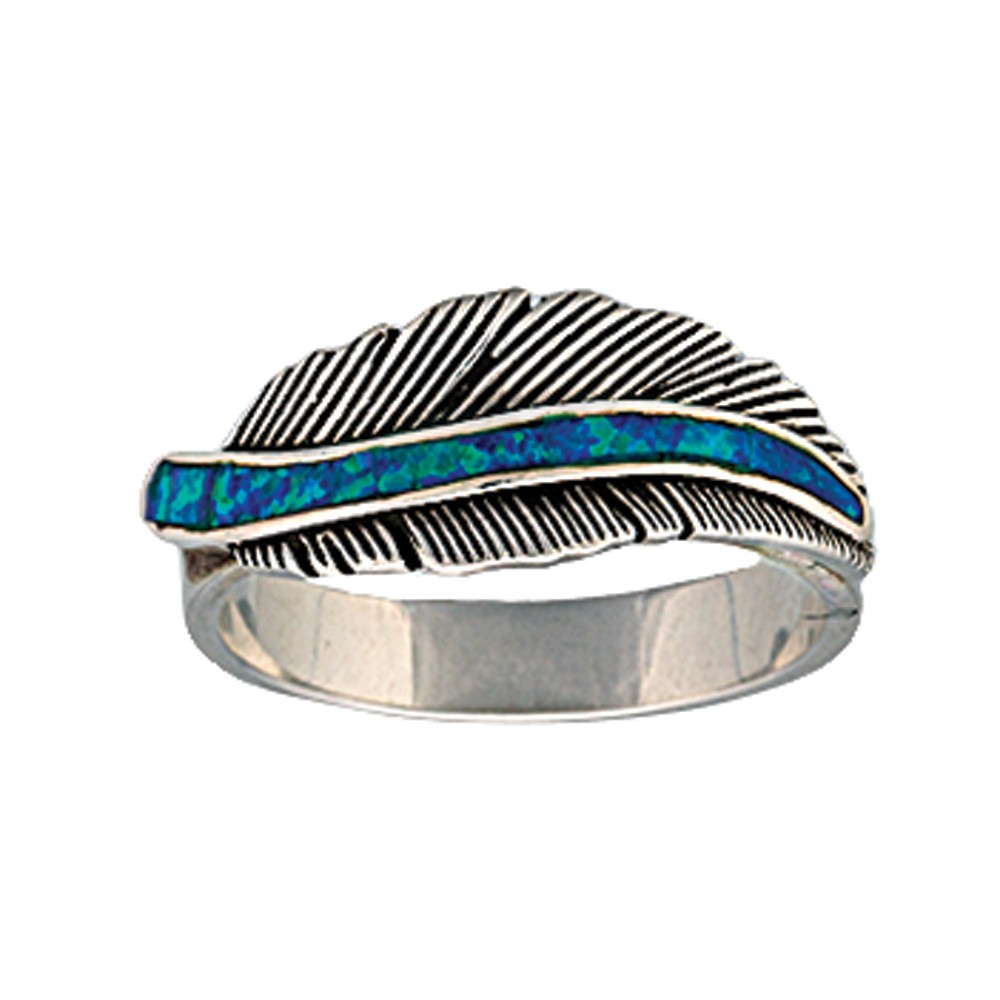 The Storyteller Feather Ring (RG1320)