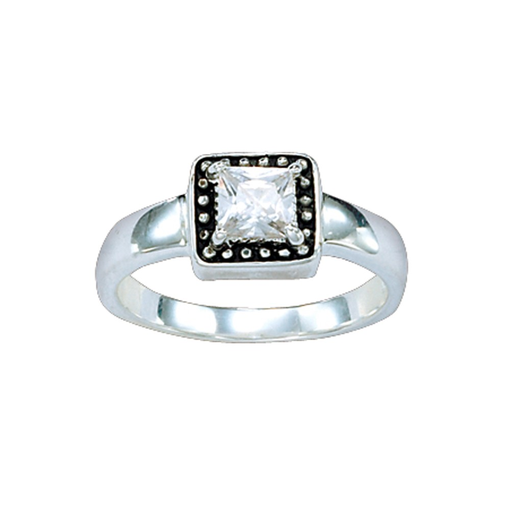 Western Princess Solitaire Ring (RG20CZ)