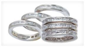 Silver Channels Triple Stack Ring (RG38CZ)