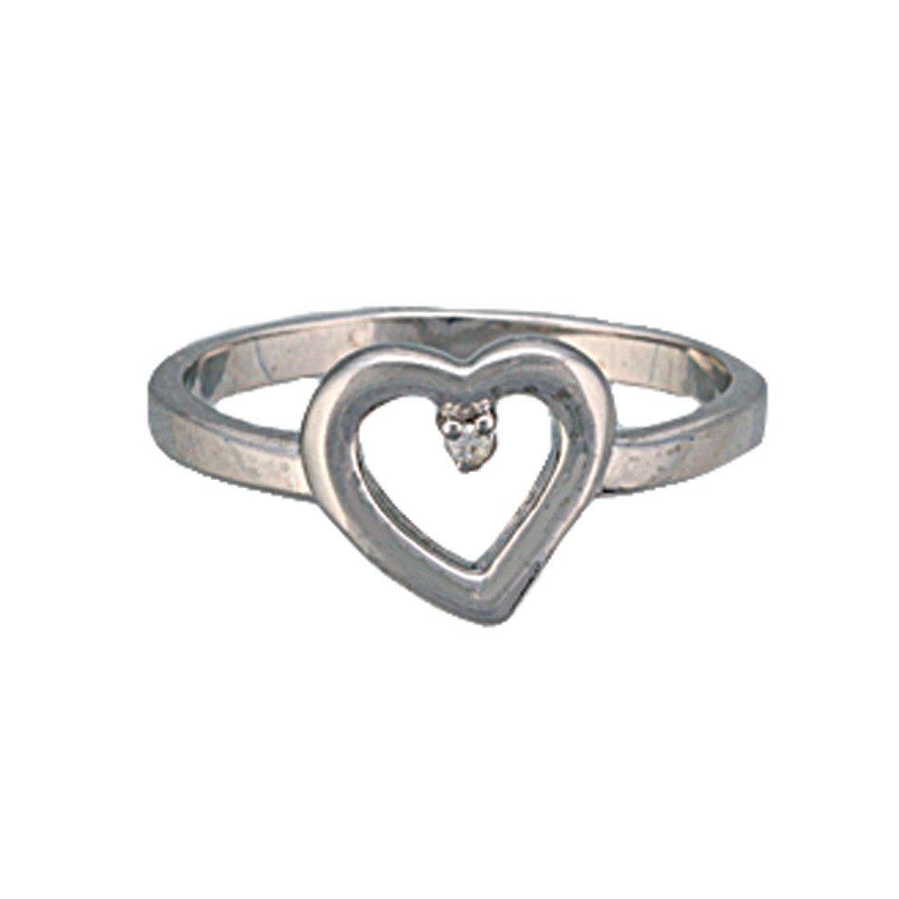 Heart Set on You Silver Ring (RG71)