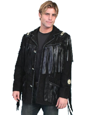 Scully Black Leather Jacket