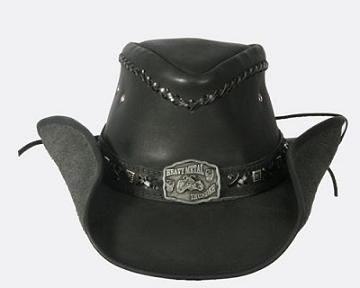 Bullhide Thunder Struck Leather Hat