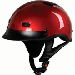 Vented Wine Half Helmet