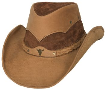 Bullhide Westcliffe Leather Hat