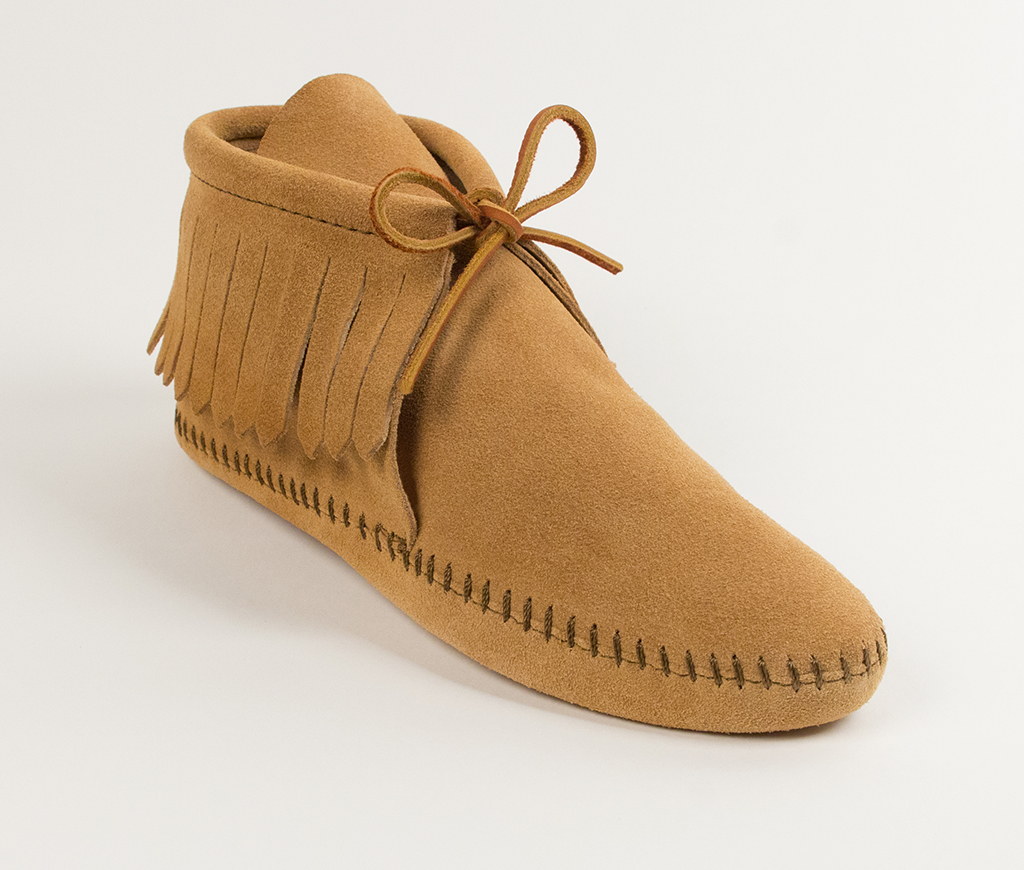 Womens Classic Fringed Boot Tan