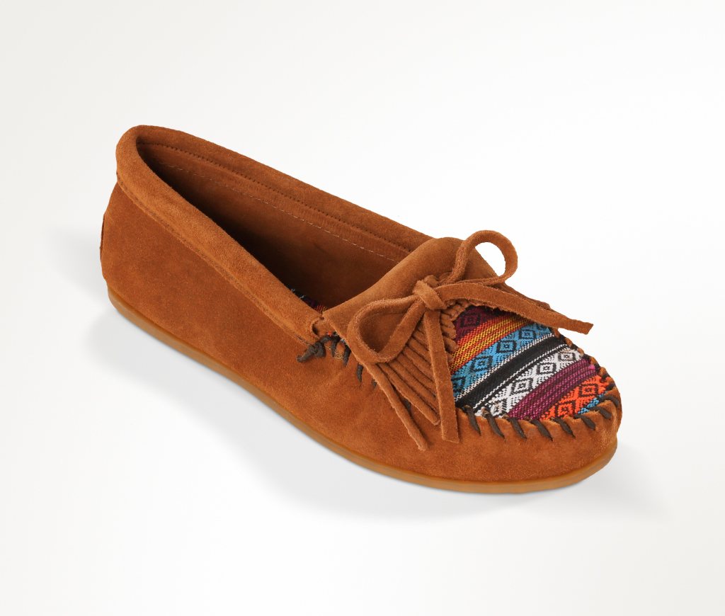 Kilty Suede Moc Brown w/Arizona Fabric