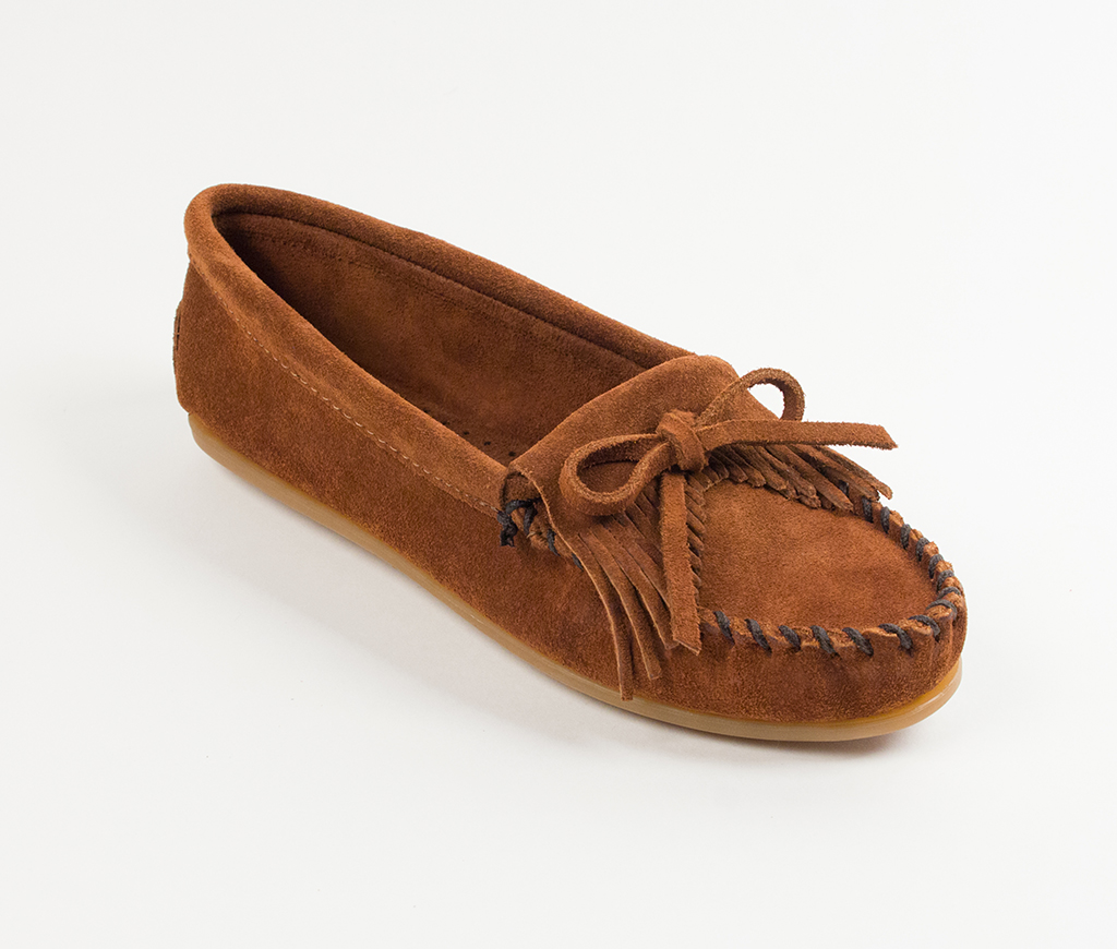 Kilty Suede Moc Brown