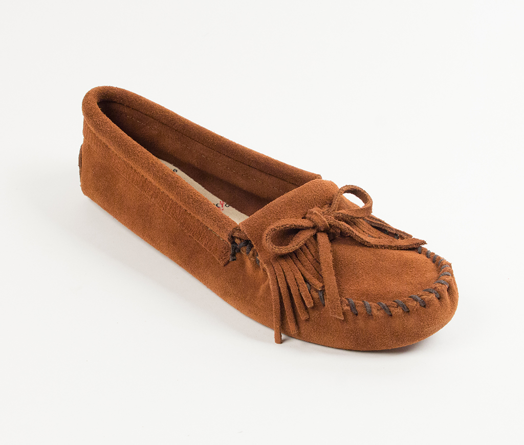 Kilty Suede Moc Brown Softsole