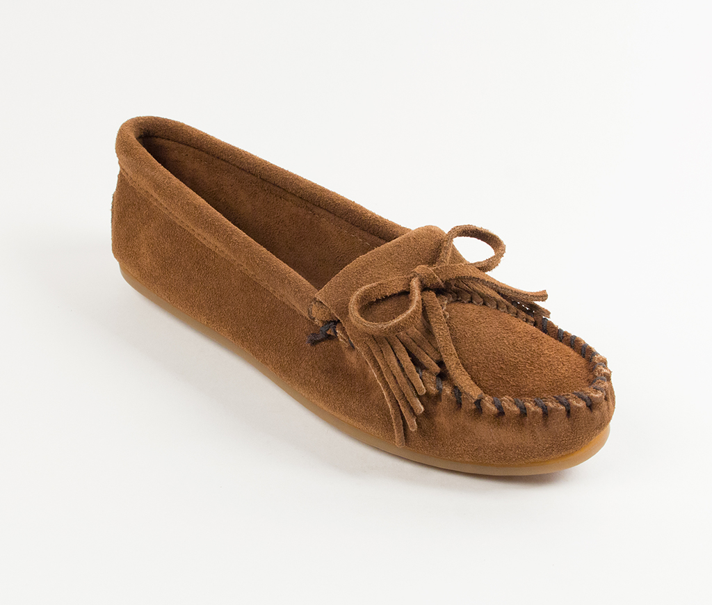 Kilty Suede Moc Dusty Brown