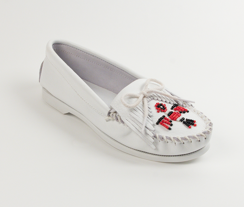 Womens Thunderbird Boat Sole White