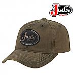 Justin Boots RUSTIC OLIVE LOGO Cap PDG73489