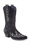 Toddler's Roper Black Faux Leather Fashion Boot